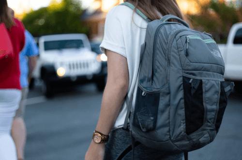 rygsæk til skolen